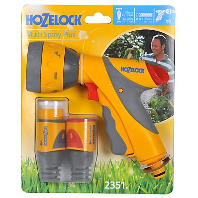 Hozelock Multi-Spray Plus Gun & Fittings