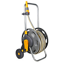 Buy Hozelock 60 Portable Cart with Multi-Purpose Hose, 30m Online at johnlewis.com