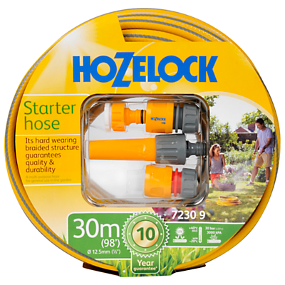 Hozelock Starter Set with Multi-Purpose Hose, 30m
