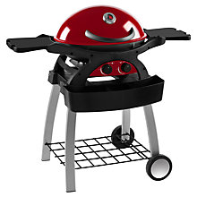 Buy Leisuregrow Ziggy 2-Burner Gas Barbecue with Stand and Cover, Red Online at johnlewis.com
