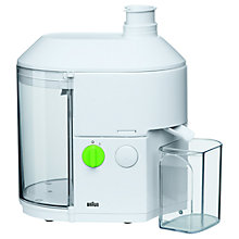 Buy Braun SJ300 Juicer, White Online at johnlewis.com