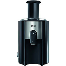 Buy Braun J500 Juicer, Black Online at johnlewis.com