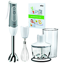 Buy Braun MQ535 Multiquick Hand Blender, White Online at johnlewis.com