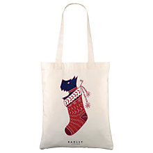 Buy Radley Stocking Filler Tote Bag, Natural Online at johnlewis.com