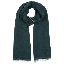 Buy Windsmoor Wool & Modal Blend Scarf, Teal Online at johnlewis.com