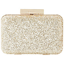 Buy Dune Bee Glitter Box Clutch Bag Online at johnlewis.com