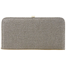 Buy Dune Brione Slim Lurex Box Clutch Bag Online at johnlewis.com