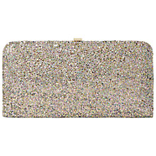 Buy Dune Beline Glitter Hard Case Clutch Bag Online at johnlewis.com