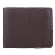Buy Ted Baker Bontray Corner Wallet, Chocolate Online at johnlewis.com