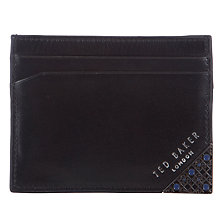 Buy Ted Baker Paints Corner Card Holder, Black Online at johnlewis.com