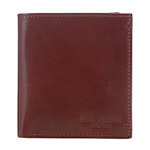 Buy Ted Baker Warholl Geoprint Small Bifold Wallet, Tan Online at johnlewis.com