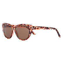 Buy John Lewis Girl Cat's Eye Tortoise Shell Sunglasses, Brown Online at johnlewis.com