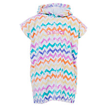 Buy Animal Girls' Lunaa Towel Poncho, Multi Online at johnlewis.com
