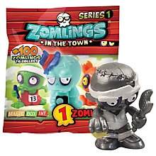 Buy Zomlings In The Town Series 1 Blind Bag Online at johnlewis.com