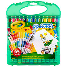 Buy Crayola Pip-Squeaks Washable Marker Set Online at johnlewis.com