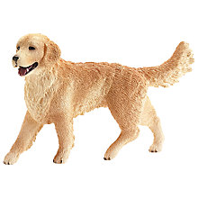 Buy Schleich Farm Life: Golden Retriever Online at johnlewis.com
