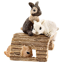 Buy Schleich Farm Life: Baby Rabbits Online at johnlewis.com
