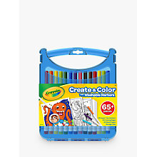 Buy Crayola Supertips Washable Marker Set Online at johnlewis.com