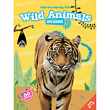 Buy Fold-Out Activity Fun Wild Animals Book & Stickers Online at johnlewis.com