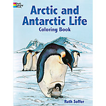 Buy Arctic & Antarctic Life Colouring Book Online at johnlewis.com