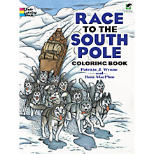 Buy Race To The South Pole Colouring Book Online at johnlewis.com