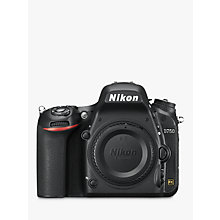 "Buy Nikon D750 Digital SLR Camera, HD 1080p, 24.3MP, Wi-Fi, 3.2"" Tilting LCD Screen, Black, Body Only + Adobe Photoshop Elements 13 Online at johnlewis.com"