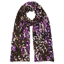 Buy Kaliko Bethany Print Scarf, Multi Dark Online at johnlewis.com