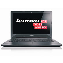 "Buy Lenovo G50-70 Laptop, Intel Core i7, 8GB RAM, 1TB, 15.6"", Black Online at johnlewis.com"