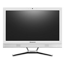 "Buy Lenovo C470 All-in-One Desktop PC, Intel Core i3, 8GB RAM, 1TB, 21.5"" Online at johnlewis.com"
