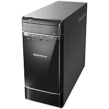 Buy Lenovo H520e Desktop PC, Intel Core i3, 4GB RAM, 1TB, Black & Silver Online at johnlewis.com