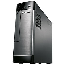 Buy Lenovo H500s Desktop PC, Intel Pentium, 4GB RAM, 500GB, Metallic & Black Online at johnlewis.com