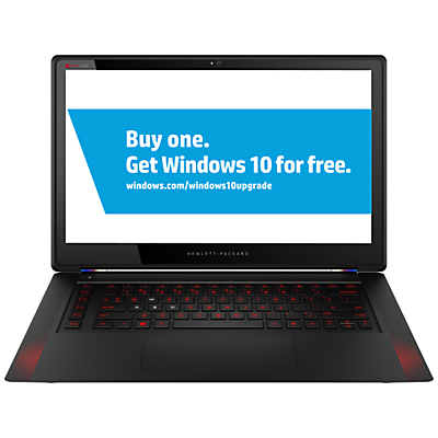 "Image of HP Omen 15-5001na Laptop, Intel Core i7, 8GB RAM, 256GB SSD, 15.6"" Full HD Touch Screen, Black"