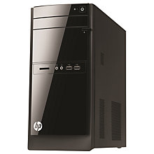 Buy HP 110-405na Desktop PC, Intel Pentium, 4GB RAM, 1TB, Black Online at johnlewis.com