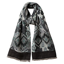Buy East Ali Wool Blend Scarf, Frost Online at johnlewis.com