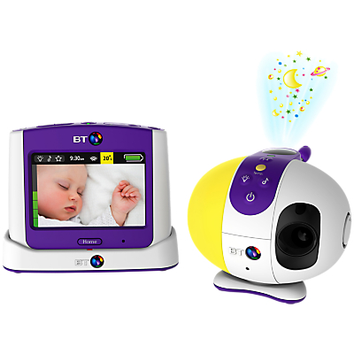 BT Baby Monitor 7500, White