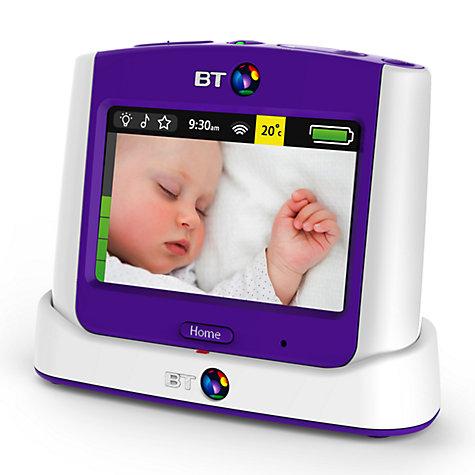 buy bt baby monitor 7500 white john lewis. Black Bedroom Furniture Sets. Home Design Ideas