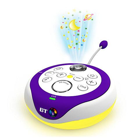 buy bt baby monitor 350 white purple john lewis. Black Bedroom Furniture Sets. Home Design Ideas