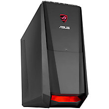 Buy Asus ROG Tytan G30AK Desktop PC, Intel Core i7, 32GB RAM, 2TB + 128GB SSD, Blu-ray, Black Online at johnlewis.com