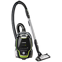 Buy AEG UltraOne Green Cylinder Vacuum Cleaner, Satin Black Online at johnlewis.com