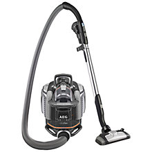 Buy AEG AUFFLEXA UltraFlex AllFloor Cylinder Vacuum Cleaner, Tungsten Online at johnlewis.com