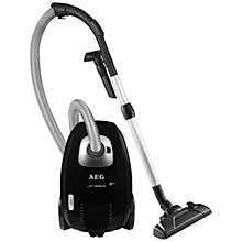 Buy AEG JMALLFLR+ JettMaxx Cylinder Vacuum Cleaner, Black Online at johnlewis.com