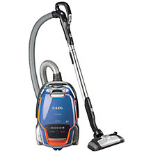 Buy AEG UltraOne Deluxe Cylinder Vacuum Cleaner, Steel Blue Online at johnlewis.com
