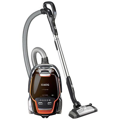 AEG UltraOne All-Floor Cylinder Vacuum Cleaner, Chocolate Brown