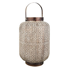 Buy John Lewis Filigree Hurricane Candle Holder, Large Online at johnlewis.com