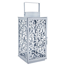 Buy John Lewis Fleur Lantern, Large, Pacific Online at johnlewis.com