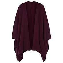 Buy Windsmoor Cape Wrap, Claret Online at johnlewis.com