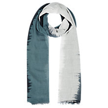 Buy Windsmoor Stripe Scarf, Multi Dark Online at johnlewis.com