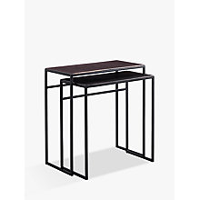 Buy Content by Terence Conran Fusion Rectangle Nest of 2 Tables Online at johnlewis.com