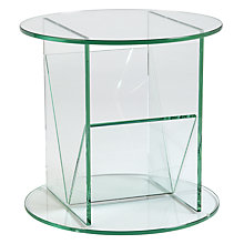 Buy Greenapple Round Side Table and Magazine Rack Online at johnlewis.com