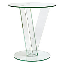Buy Greenapple Round V Side Table Online at johnlewis.com